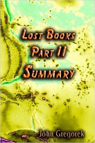 Download pdf online bøger gratis Summary Lost Bible Books (part 2) DJVU by John Gregorek B003PPDFHM
