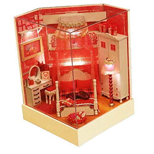 NATFUR 1:24 Scale DIY Dollhouse Miniature Furniture Model Collection Wedding Gift from NATFUR