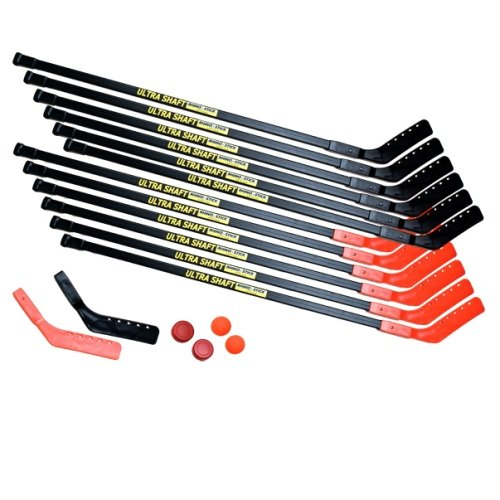 Champion Sports Ultra Shaft Hockey Set