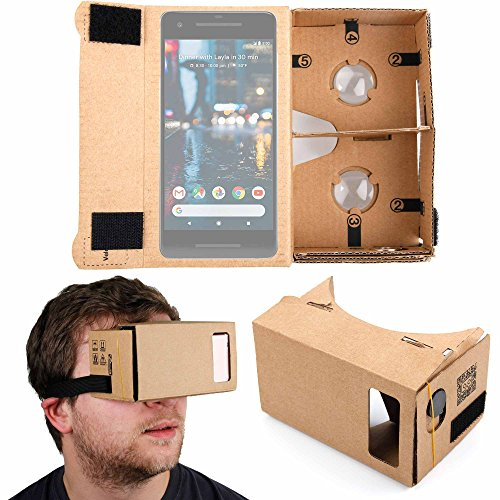 DURAGADGET Google Cardboard Virtual Reality Headset - Compatible with the...