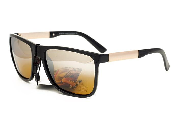 Matrix Drive Gafas de sol - para hombre Negro negro M ...