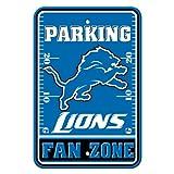 NFL Detroit Lions Plastic Parking Signs