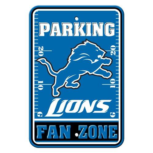 NFL Detroit Lions Plastic Parking Signs ()