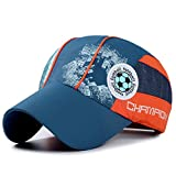 Home Prefer Kids Toddlers Lightweight Quick Dry Sun Hat UPF50+ Mesh Baseball Hat (Navy)