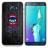 For Samsung Galaxy S6 Edge Plus - Baseball Cub Team Case Cover Protection Design Ultra Slim Snap on Hard Plastic - God Garden -