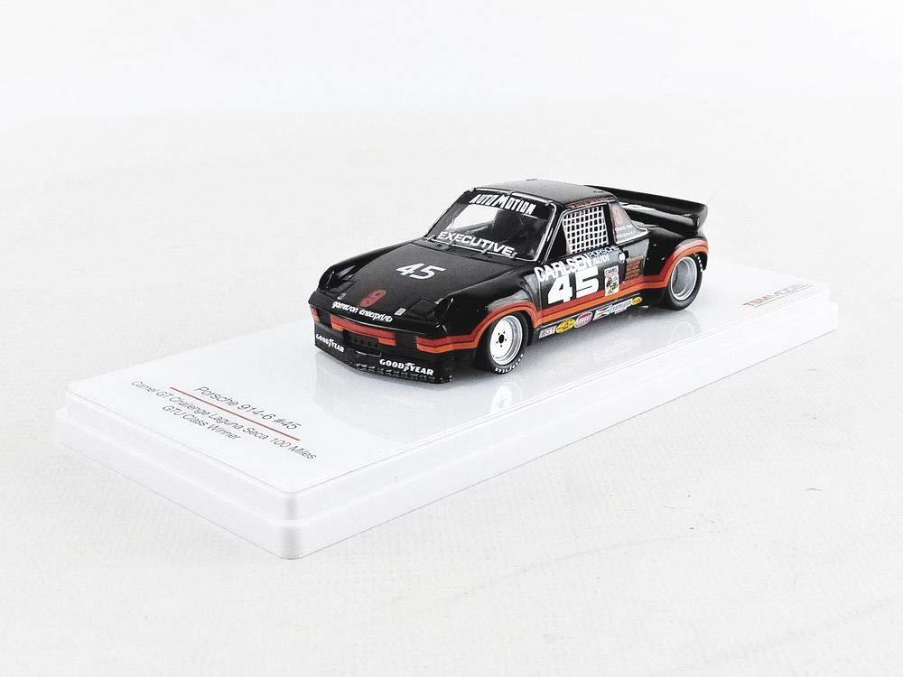 ventas calientes Truescal Truescal Truescal TSM164339 - Coche Miniatura de colección, Color negro y naranja  calidad fantástica