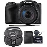 Canon PowerShot SX420 IS 20.0MP Digital Camera (Black) + Camera Case