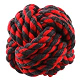 ViCreate Ball of Yarn Toy for Dogs and Cats (Random Color,6 x 6cm)