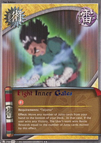 Naruto - Eight Inner Gates 756 - Path of Pain - Rare - 1st Edition