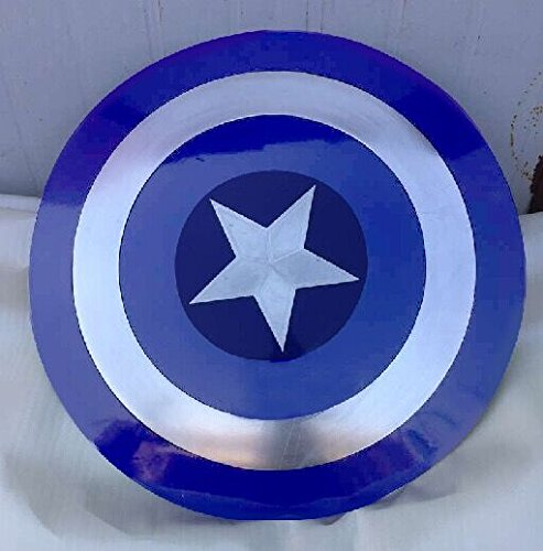 Gmasking Metal Captain America The Winter Soldier Adult Shield Blue 1:1 Replica
