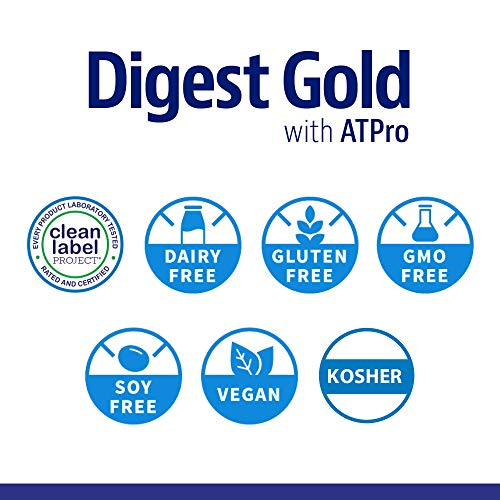 Enzymedica - Digest Gold with ATPro, Daily Digestive Support Supplement with Enzymes and ATP, 240 Capsules (FFP) by Enzymedica (Image #7)