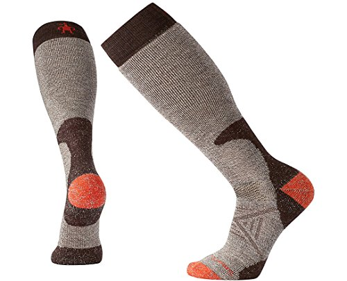 Wool Socks Calf Over - SmartWool Men's PhD Hunt Heavy Over the Calf Socks (Taupe) X-Large