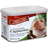 General Foods International Italian Cappuccino Coffee Drink Mix, 8-Ounce Tins (Pack of 6)