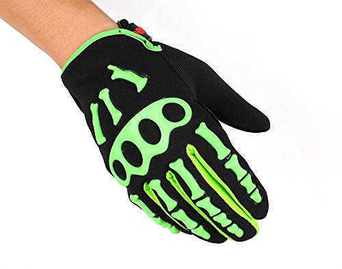 Kungken Cycling Racing Sport Mountain Bicycle Motorcycle Padded Ghost Skeleton Bone Gloves by Kungken (Image #1)