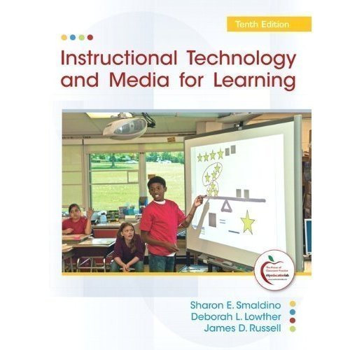 Instructional Technology and Media for Learning (Instructor's Copy) by Sharon E. Smaldino (2012-01-01) Paperback