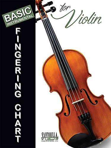 Basic Fingering Chart for Violin (Chart Chord Violin)