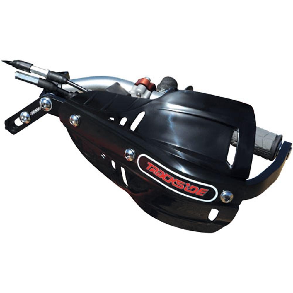 1 1//8 Black TRACKSIDE Aluminum Handguard Kit with Shields