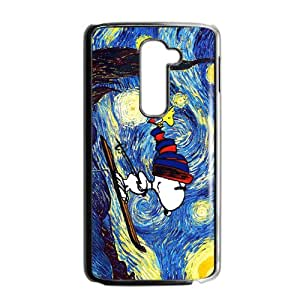 Van gogh starry night paintings snoopy Cell Phone Case for LG G2