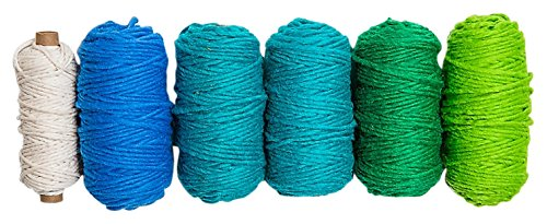 Loom Harrisville Peg (Harrisville Designs Peg Loom & Lap Loom Ocean Yarn Pack Building Kit)