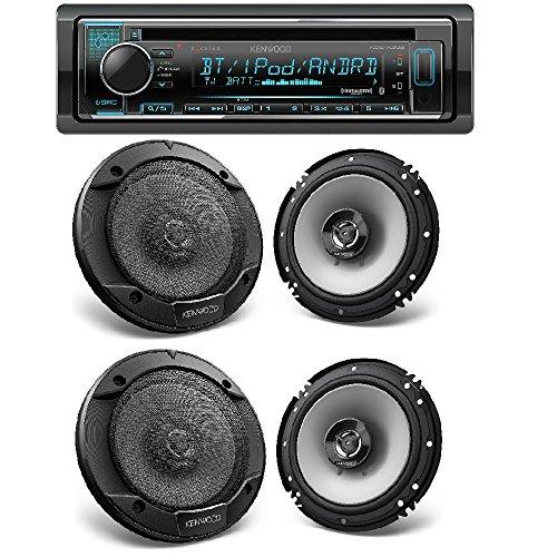 Kenwood Single DIN Bluetooth Car Stereo w/Spotify & Pandora