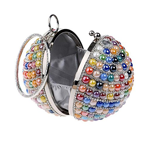 Wedding Soirée Party Femme Sac Ladies Embrayage Prom Multicolore NAOMIIII Sparkly Bridale EqtPYEW