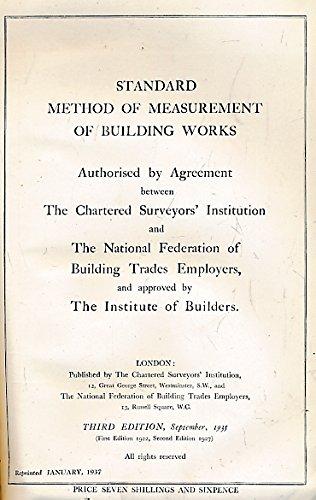standard-method-of-measurement-of-building-works