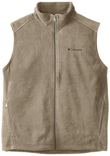 Columbia Mens Big Steens Mountain And Tall Vest  Tusk  Tall Large
