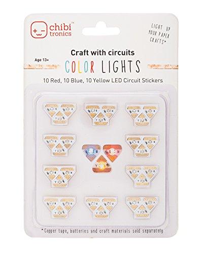 Nice Chibitronics Circuit Stickers – Crimson, Yellow, Blue Megapack  Critiques