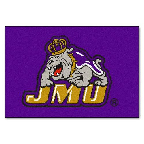 FANMATS NCAA James Madison University Dukes Nylon Face Starter Rug