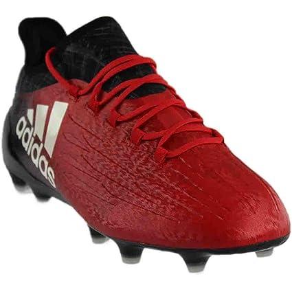 191e31ba2aa Amazon.com  adidas X16.1Fg Red White Black Soccer Shoes (BB5618 ...