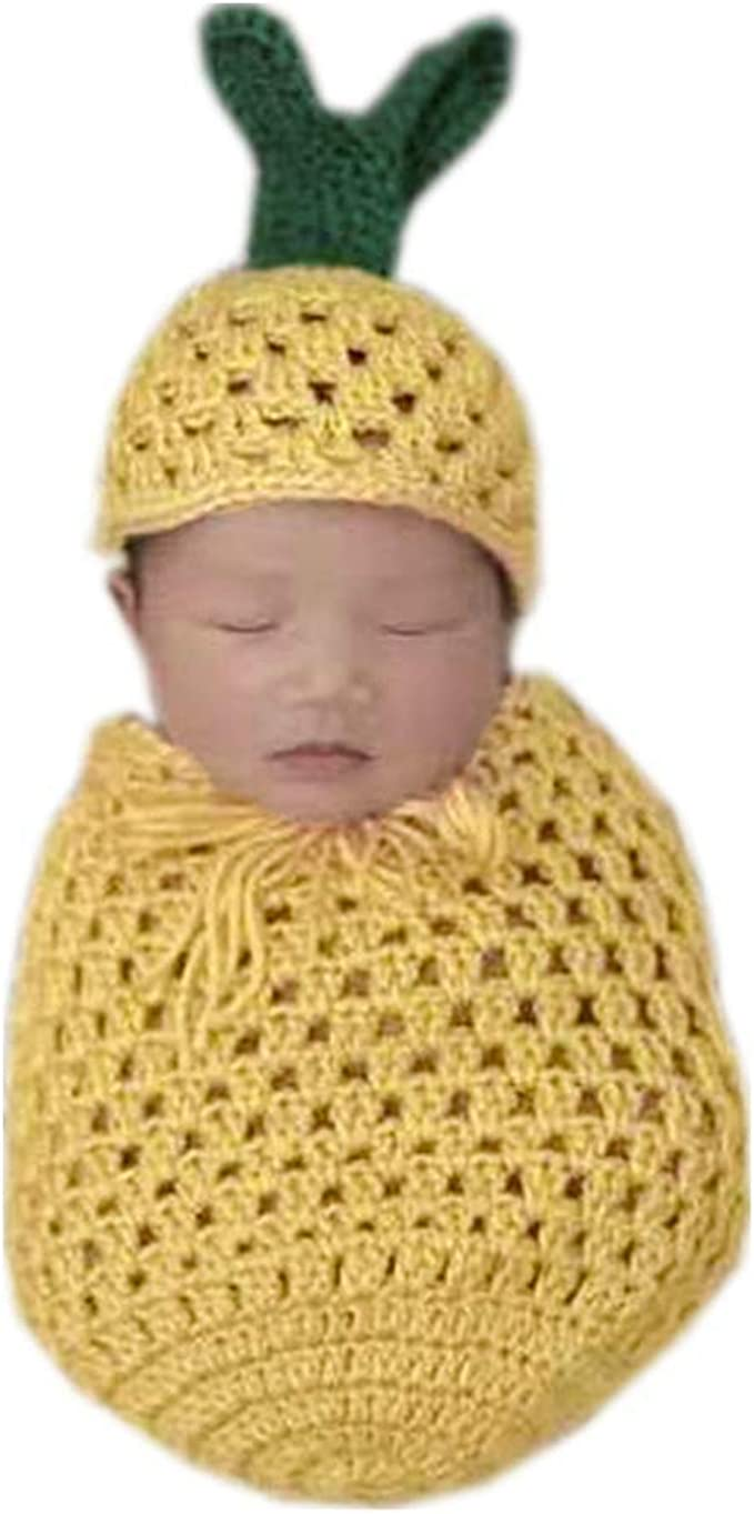 Newborn Baby Girls Crochet Knit magician Hat Costume Photo Photography Outfits
