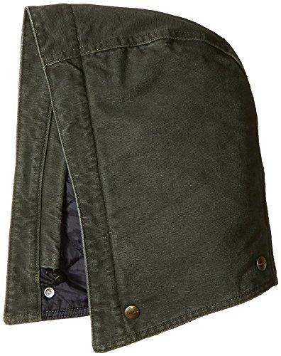 Carhartt 102366 Men's Quilt Lined Sandstone Hood (S-XL, Moss)