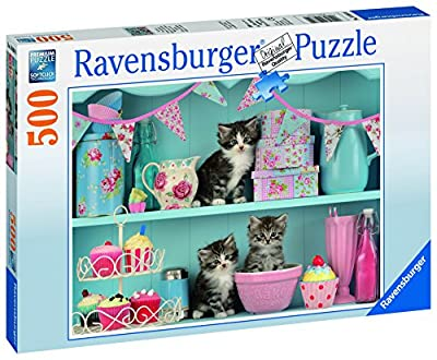 Ravensburger Kittens and Cupcakes Jigsaw Puzzle (500 Piece)