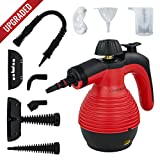 Handheld Multi-Purpose Pressurized Steam Cleaner with Safety Lock and Sanitizing System with Attachments. Great for Bed Bug Treatment and other insect infestation