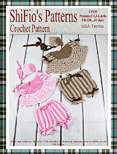 Crochet Pattern - CP233 -  Pleated Angel Top, Trousers and Hat Set - newborn, 0-3, 3-6 mths - USA Terminology