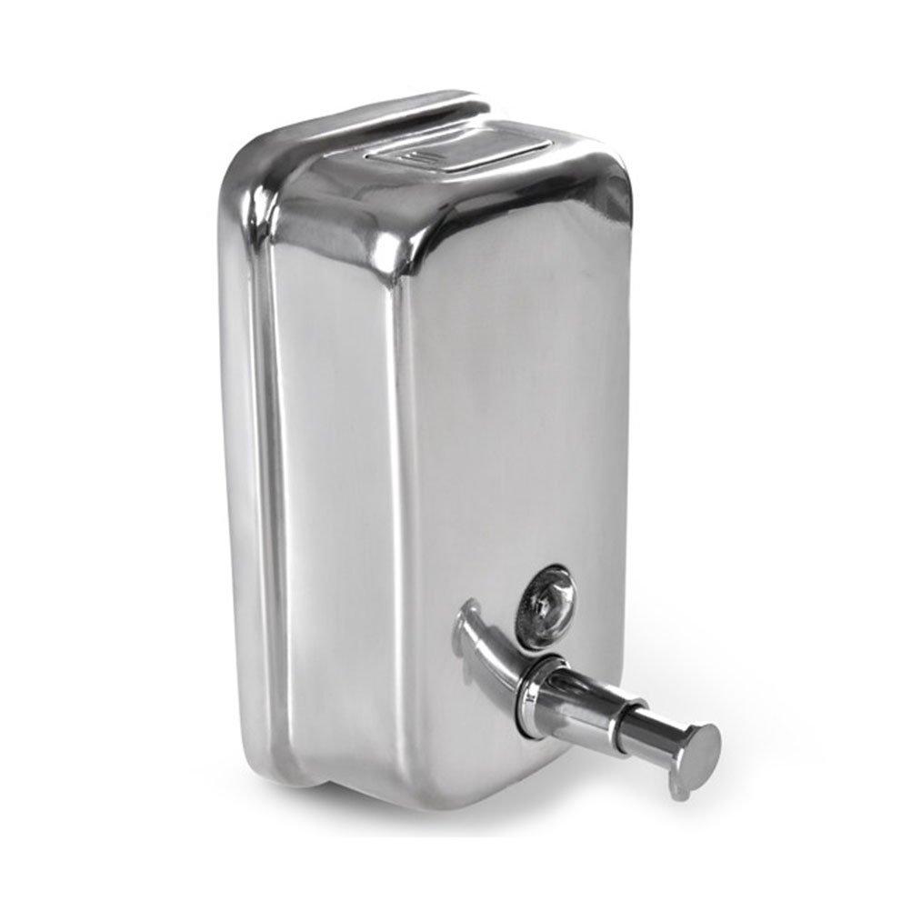 LEORX 500ml Dispensador de jabón líquido dispensador Champú jabón (plata): Amazon.es: Bricolaje y herramientas