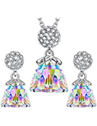 """LadyColour """"Before Sunrise"""" Jewelry Set Made with Swarovski Crystals"""