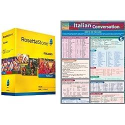 Rosetta Stone Italian Conversation Bundle