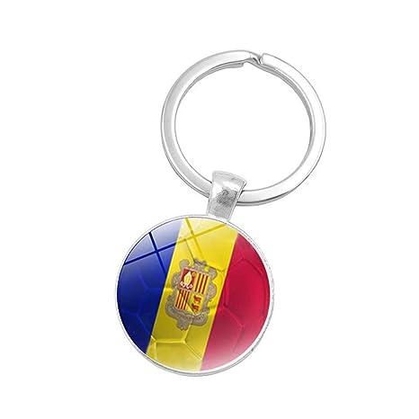 Leedy Llavero con Bandera del Mundo de Rusia con diseño de ...