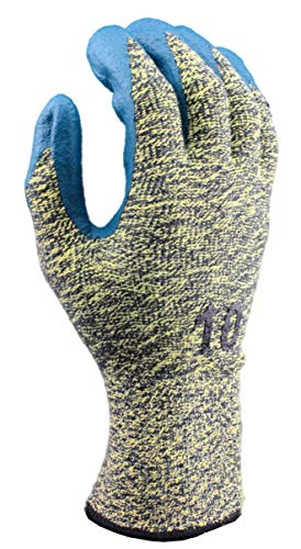 Stauffer Cut Resistant Glove with Nitrile Foam Coating, Cut Level A4, Extra Small, (Pack of 12) by Stauffer Glove & Safety (Image #2)
