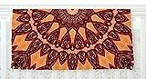 KESS InHouse Iris Lehnhardt ''Colors of Africa'' Brown Orange Fleece Baby Blanket, 40'' x 30''