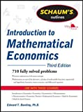 img - for Schaum's Outline of Introduction to Mathematical Economics, 3rd Edition (Schaum's Outlines) book / textbook / text book
