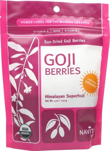 Dried Fruit & Raisins: Navitas Organics Goji Berries