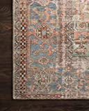 Loloi Loren Collection Vintage Printed Persian Area