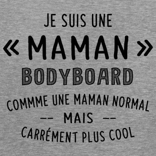 une maman normal bodyboard - Femme T-Shirt - Gris - L