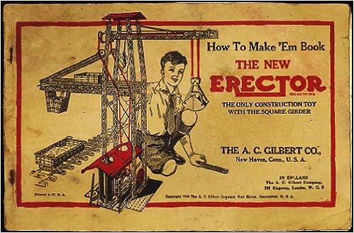 How To Make Em Book Vintage Erector Set Instructions Ac Gilbert