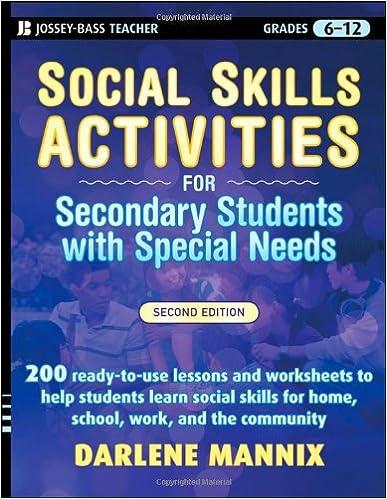 social skills teaching ideas activities special education