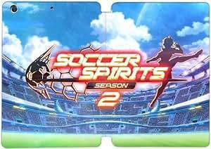 Cubierta de cuero y caja de la PC funda / soporte para funda de Apple iPad Mini 4 funda Con Magnetic reposo automático Función de despertador DIY por Soccer Spirits Y7S3Gy1U8Bi