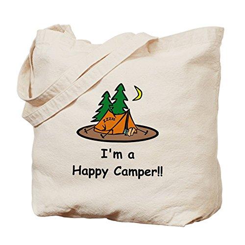 CafePress borsa, I'm A Happy Camper-Borsa!!