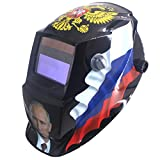 Din9-Din13 Solar Auto Darkening Welding Helmets/Electric Face Mask/Caps For Tig Mig Mma Stick Machine